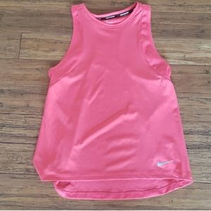 Dri-fit Nike pink mesh top